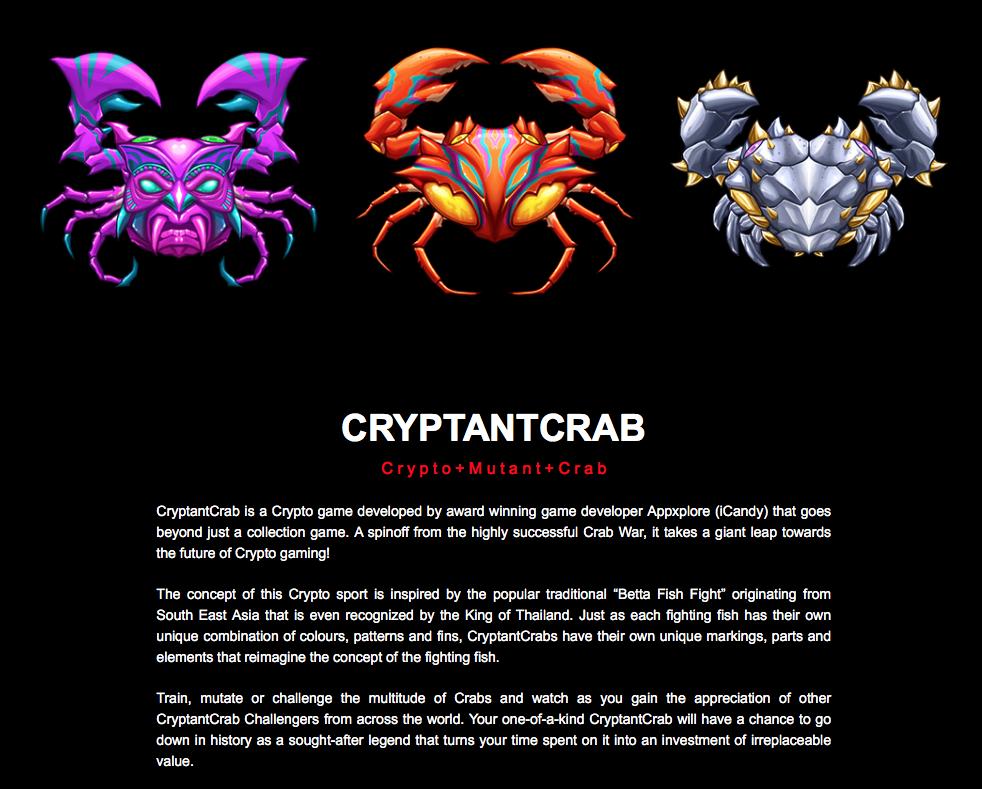 Crepitant Crab