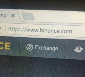 Fake Binance website