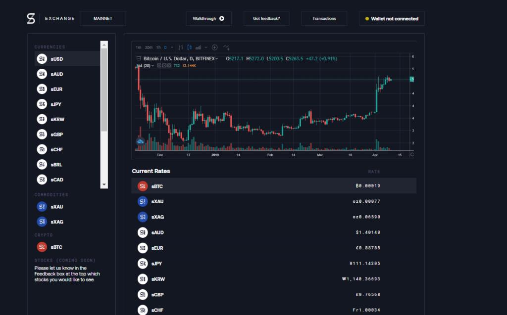 Synthetix.exchange