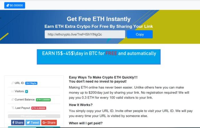 Bitcoin Collector scam