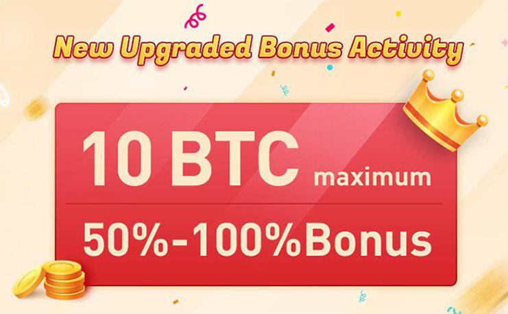 Bexplus offers 100% BTC bonus