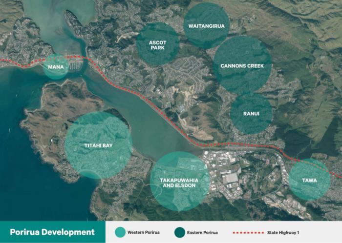 The Porirua Development will take place over a quarter of a century.