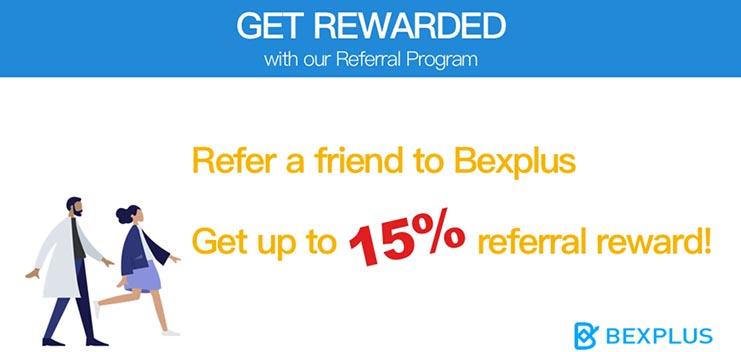 New referral bonus activity