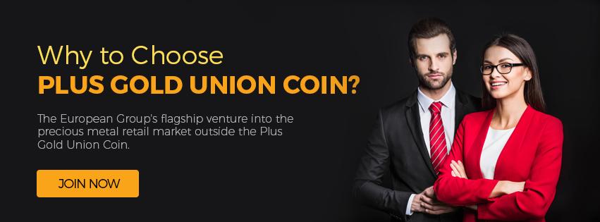 Plus Gold Union Coin