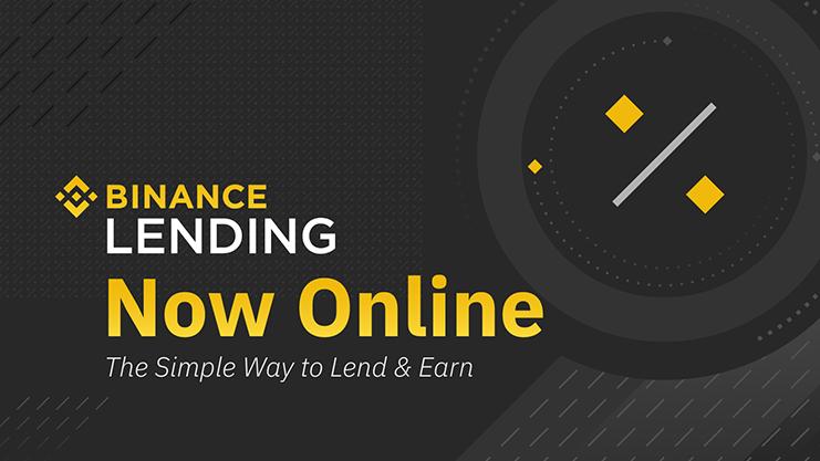 Binance launches Binance Lending