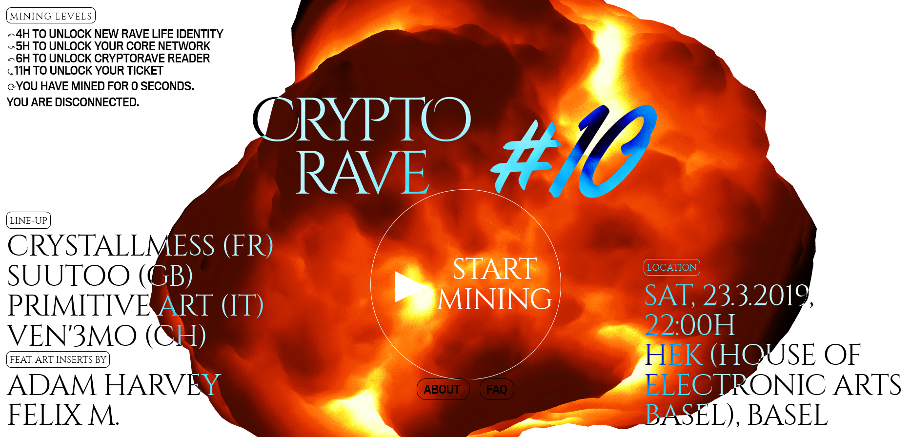 mining crypto to get your rave on