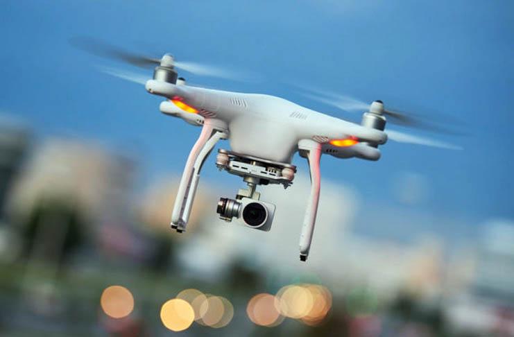 Walmart's patent for blockchain drone communication