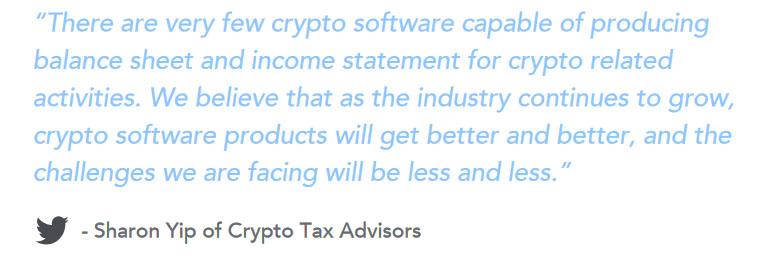 Sharon Yip of Crypto Tax Advisors