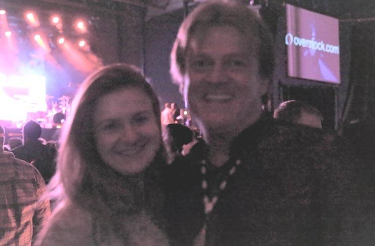 Former Overstock.com CEO Patrick Byrne with Maria Butina