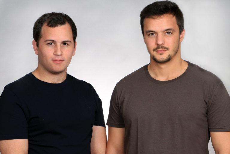GK8 founders Shahar Shamai (left) and Lior Lamesh (Photo: Osnat Krasnanski)