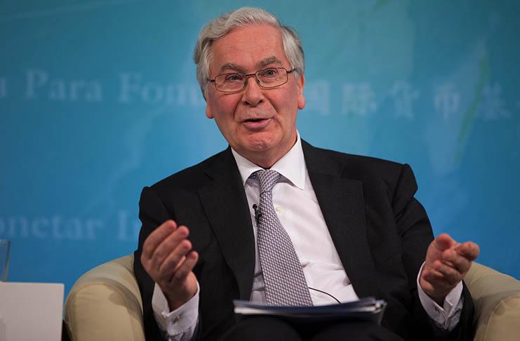 Former governor of the Bank of England, Mervyn King