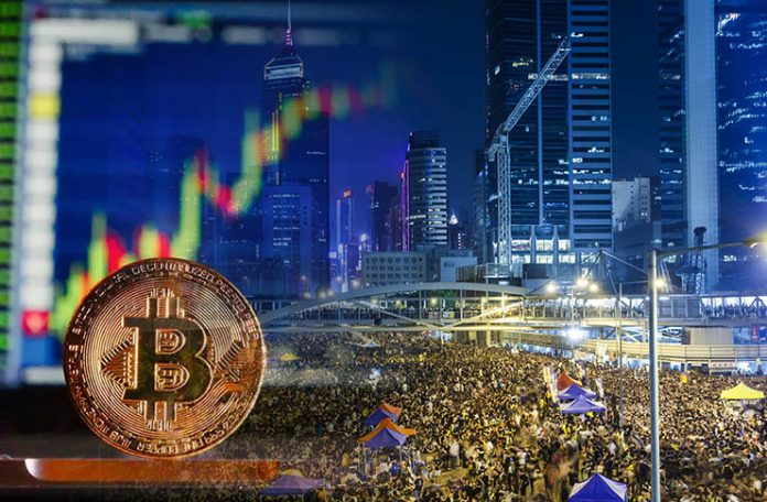 Bitcoin volumes in Hong Kong hit record high on LocalBitcoins