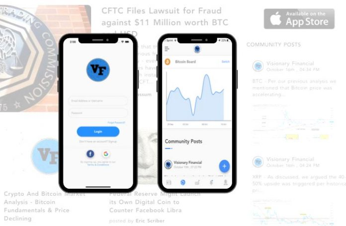 VF launches crypto social platform and mobile iOS support