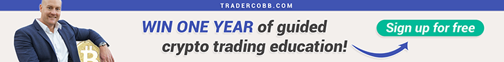 Win one year of guided crypto trading education with Craig Cobb
