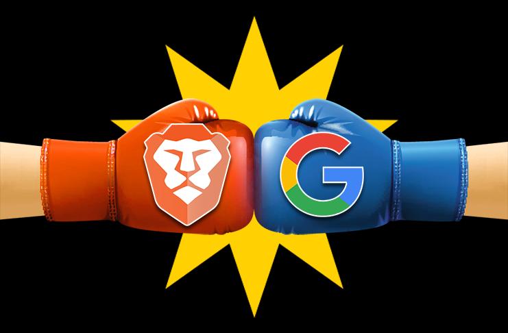 Brave's war on Google