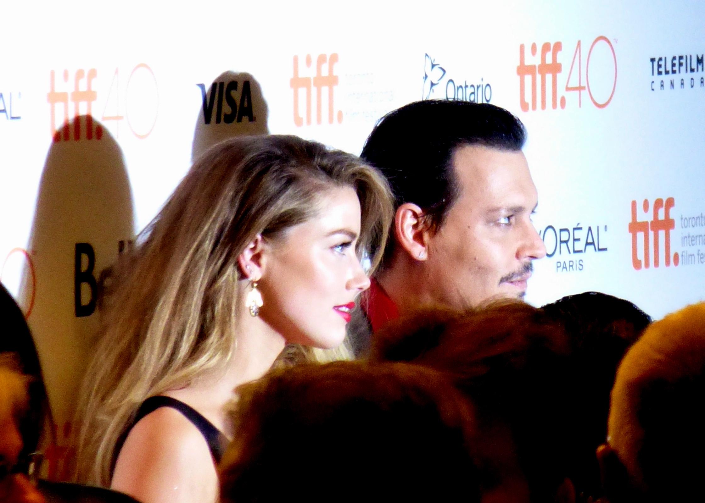 Amber Heard, Johnny Depp's altercation