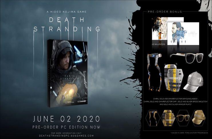 Death Stranding Preorder Promo