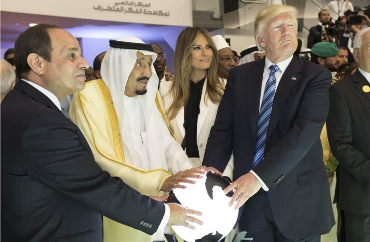 Melania Trump's body language changed