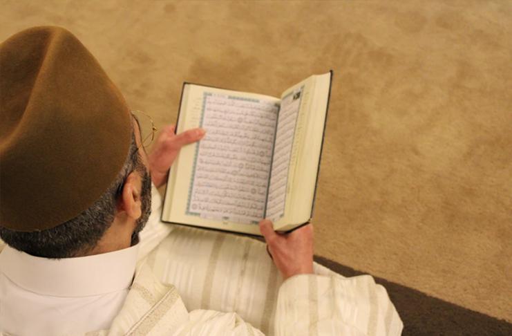 muslim quoran man