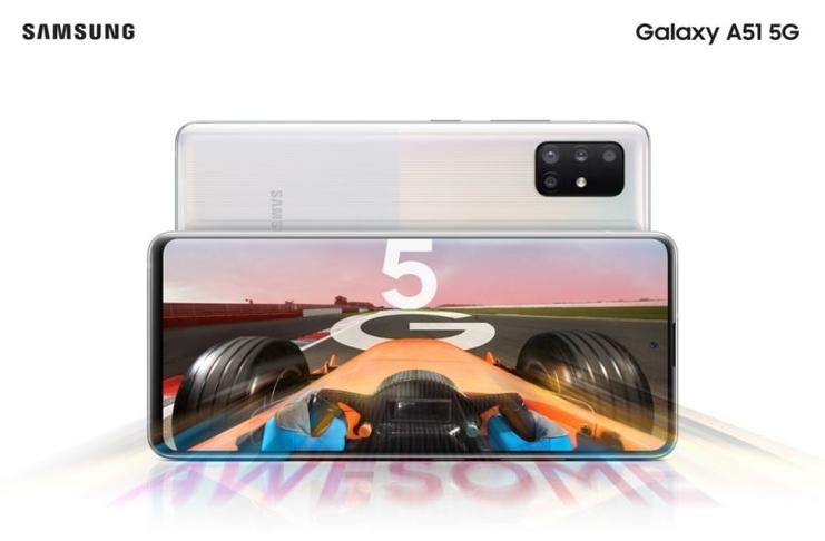 Samsung unveils addition to 5G smartphones