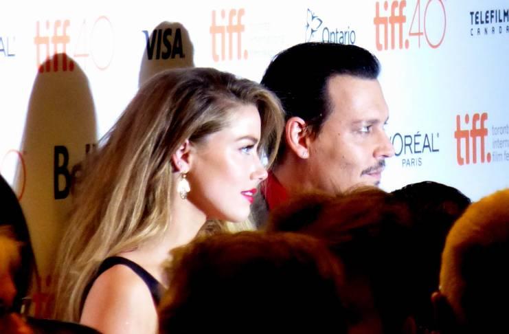 Johnny Depp, Amber Heard engagement