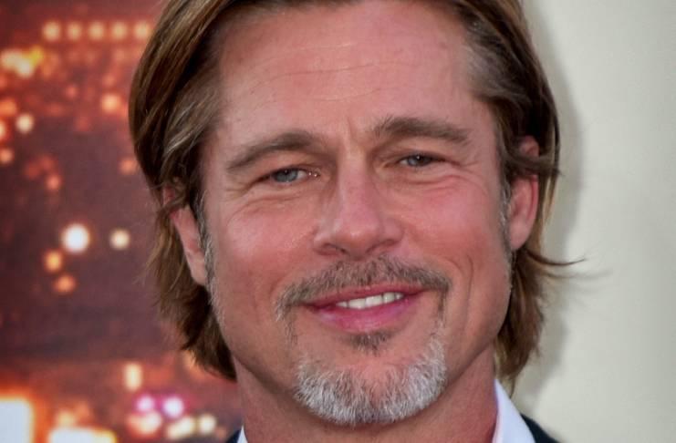 Alia Shawkat helps Brad Pitt