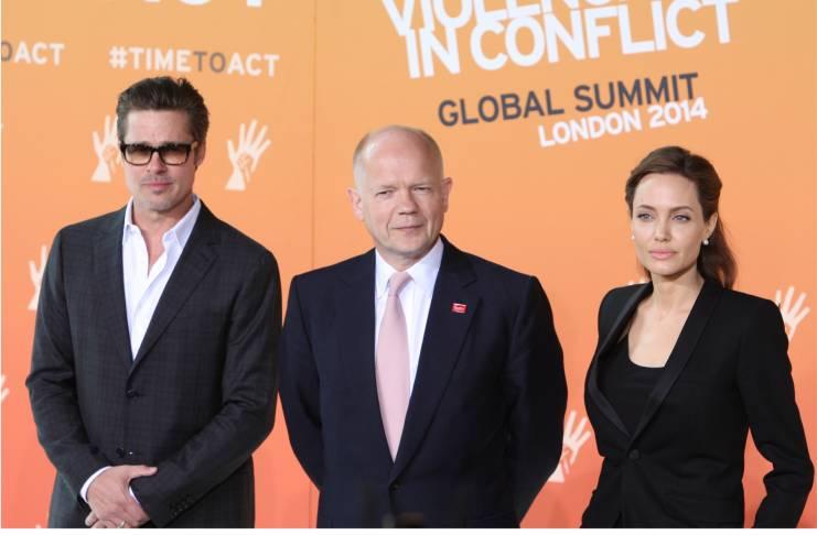 Angelina Jolie, Brad Pitt's bitter divorce
