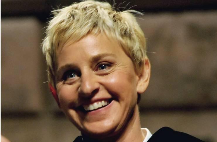 Ellen DeGeneres breaks down in tears
