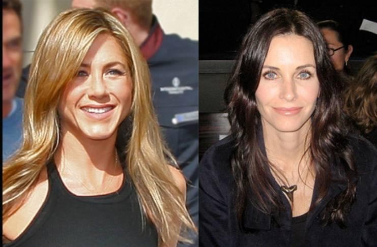 Jennifer Aniston, Courteney Cox reunion