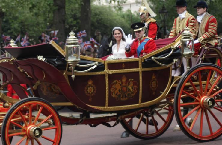 Kate Middleton fills the gap
