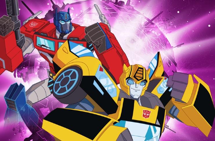 Transformers animated prequel film