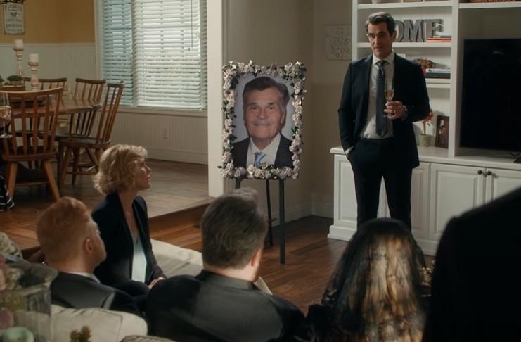 Modern Family cast bids farewell to Fred Willard