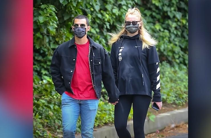 A walk with Joe Jonas
