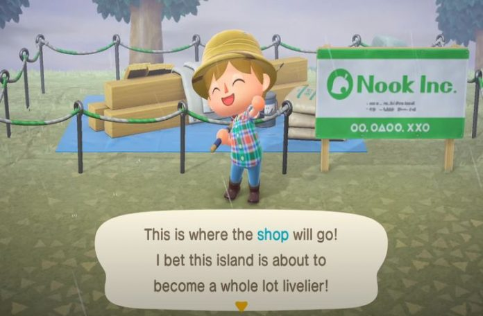 Animal Crossing: New Horizons Nook's Cranny Building