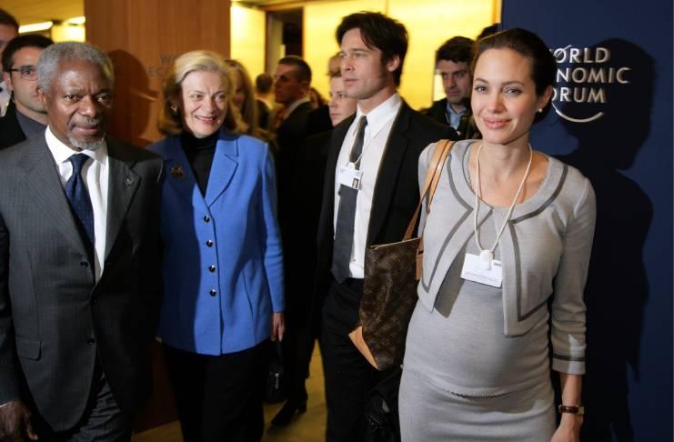 Angelina Jolie, Brad Pitt divorce