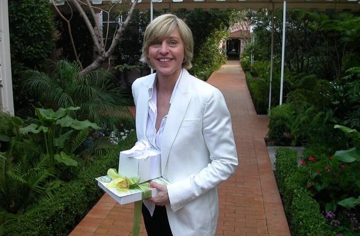 Ellen DeGeneres fled her home as a teenager