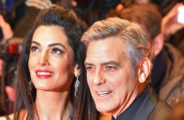 Does George Clooney plan on growing his beard?