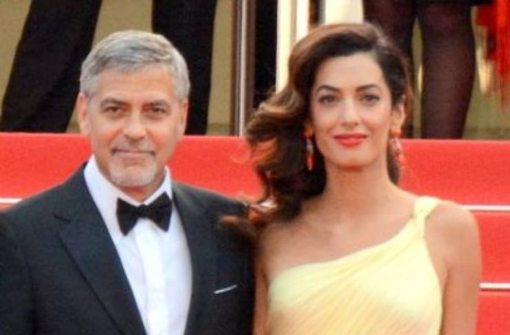 George Clooney gushes over Amal Clooney