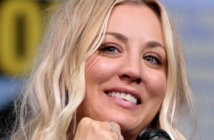 Kaley Cuoco allegedly not very patient