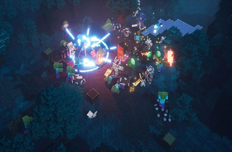 Minecraft Dungeons Nintendo Switch version
