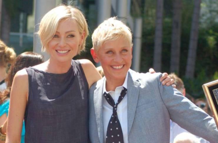 Ellen DeGeneres, Portia de Rossi relationship