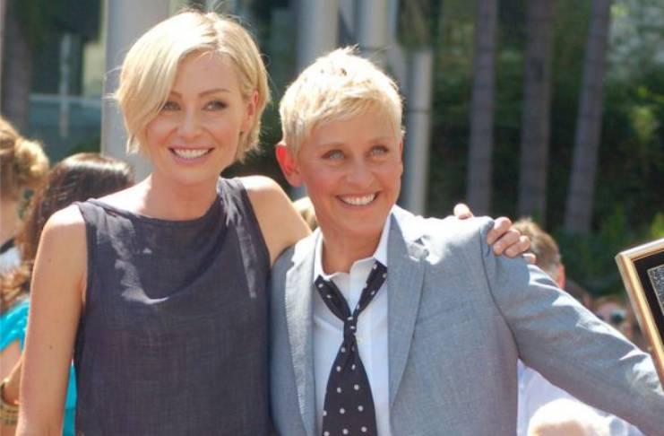 Portia de Rossi talks about Ellen DeGeneres first meeting