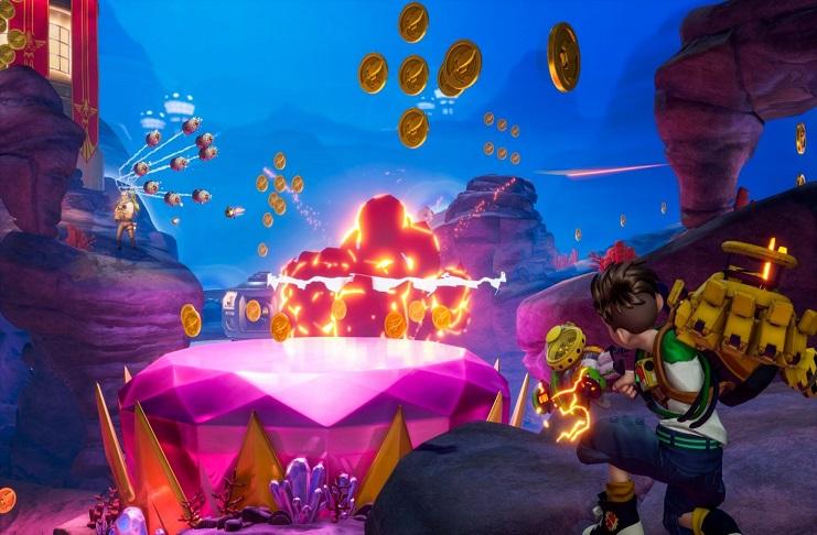 Rocket Arena Treasure Hunt Game Mode