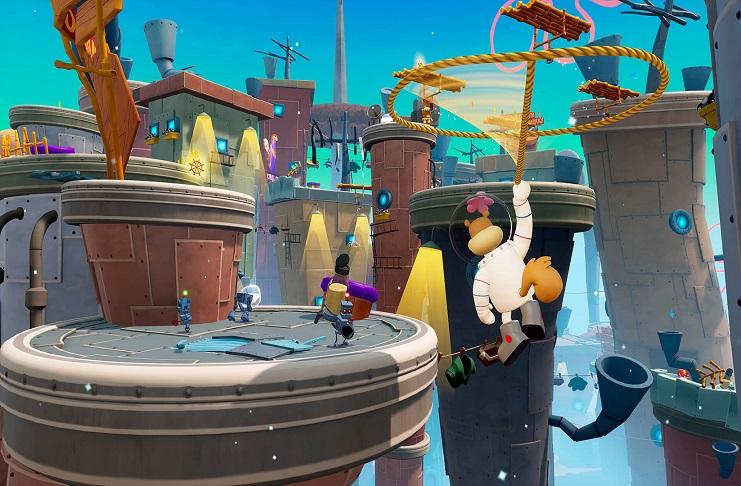 'SpongeBob SquarePants: Battle for Bikini Bottom Rehydrated': Nostalgic multiplayer experience