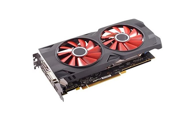 XFX RX570 - budget gaming PC build graphics card for full HD 60fps