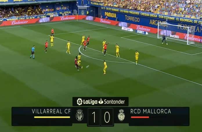 La Liga results: Bacca scores a 1-0 win for Villarreal against Mallorca