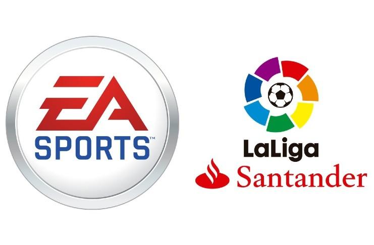 Electronic Arts La Liga partnership renewal