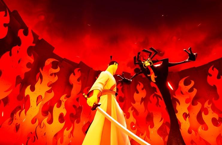 Samurai Jack Battle Through Time gameplay