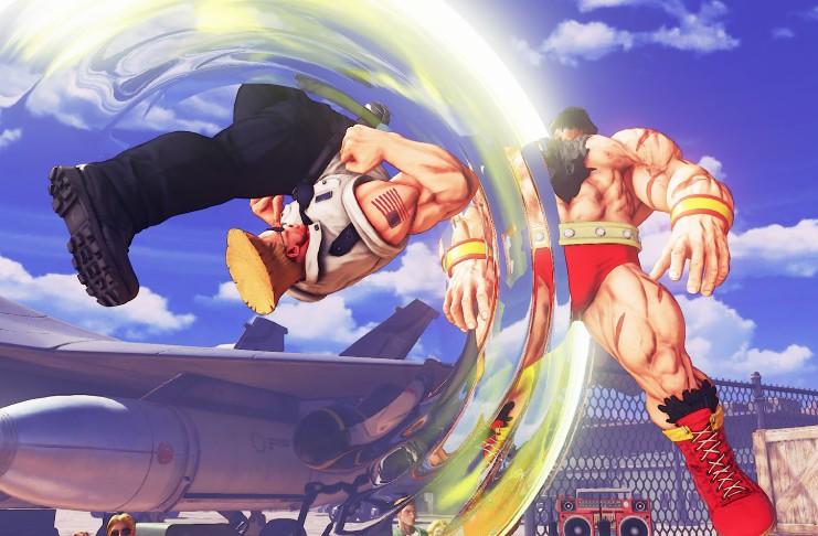 Street Fighter 5 Guile Black Lives Matter