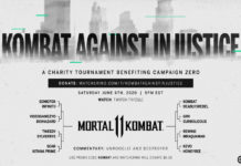 'Mortal Kombat 11' Saturday tournament to raise funds against police brutality